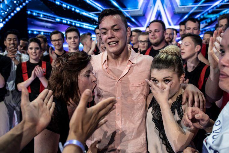 Belgium Got Talent winnaars Tascha en Ian.
