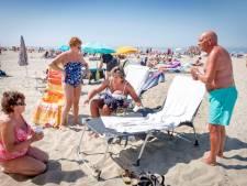Hup naar het strand: nergens zo heet als in Hoek van Holland