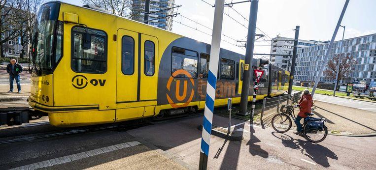 Op 18 maart is het precies een jaar geleden dat vier mensen werden gedood tijdens de tramaanslag op het 24 Oktoberplein in Utrecht.  Beeld ANP