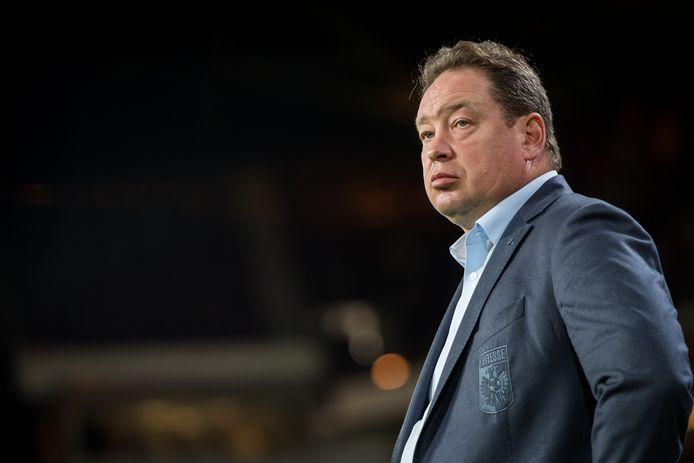 Vitesse-trainer Leonid Sloetski.