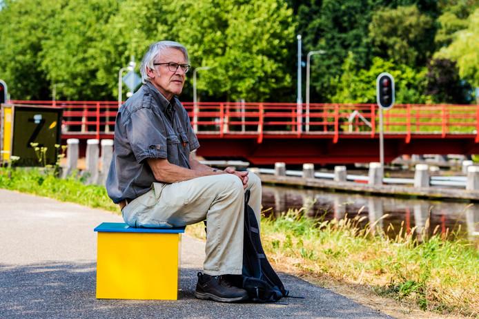 Tilburg ; Marius de Jong; Voetstuk; advocaat; voormalig; sociaal; voedselbank; kanaal ;