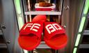 Slippers van de FEBO.
