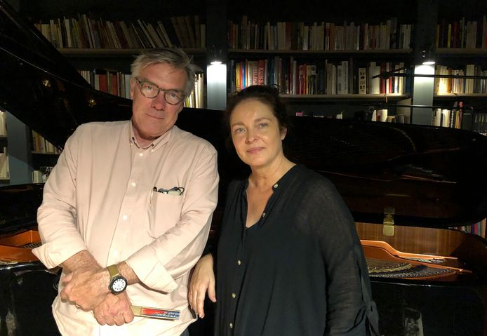Willy Obermüller en Mireille Robbe van Jazzcentrum La Conserve.