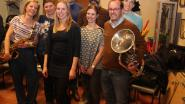 Frisse en vrouwelijke wind bij Koninklijke Fanfare en Drumband Nieuw Leven