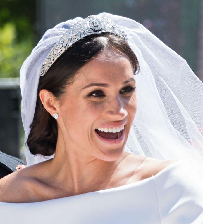 De tiara op haar huwelijksdag was niet degene die Meghan op het oog had.