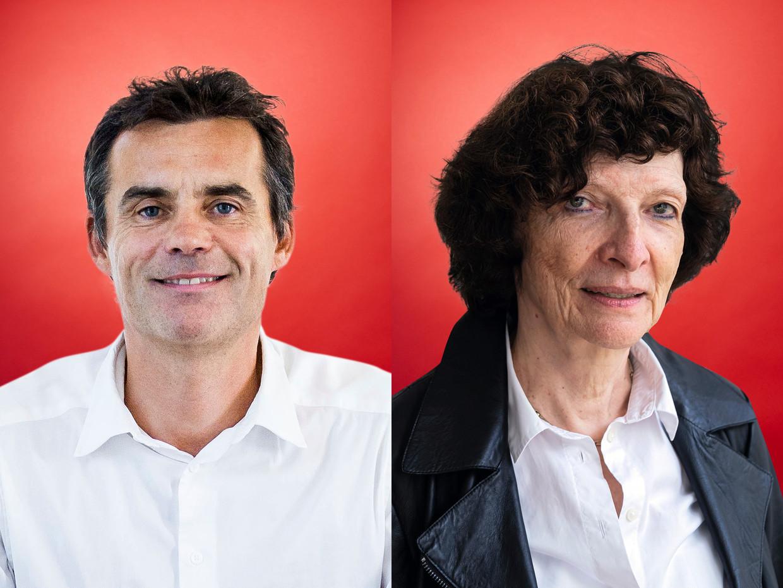 Marc Fauconnier en Frieda Matthys.