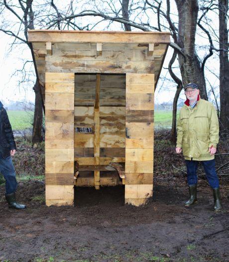 Commiezenhut herrijst in Den Velde aan grens met Duitsland