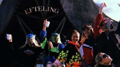 Topmodellen Kendall, Gigi en Bella leven zich uit in de Efteling