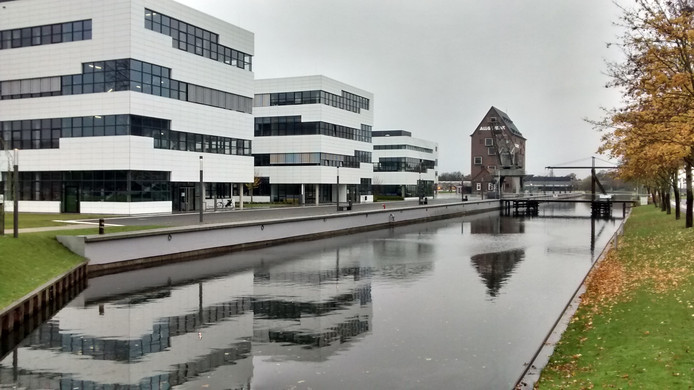 De Hochschule Rhein-Waal in Kleef.