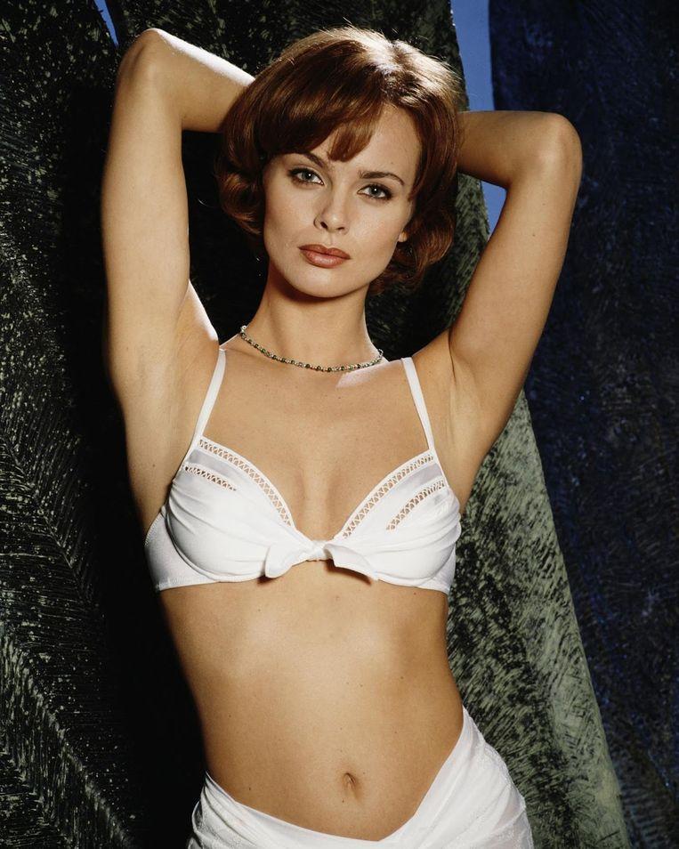 Izabella Scorupco als Natalya Simonova in Golden Eye (1995) Beeld