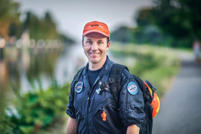 Job Kramer werkt in Nederland voor de Veiligheidsregio Zuid-Holland Zuid, maar was vorige week in Beiroet met het Usar-team als teamleider.