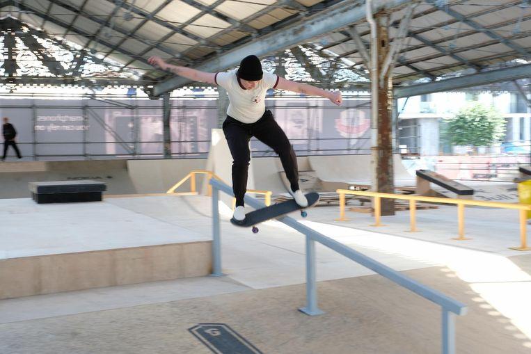 Als deze skatetrick maar goed afloopt...