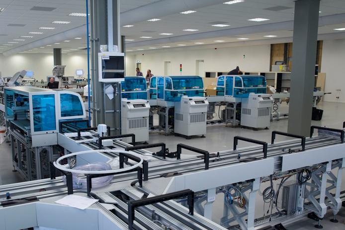 Het lab van Diagnostiek voor U aan de Boschdijk in Eindhoven. Foto Kees Martens