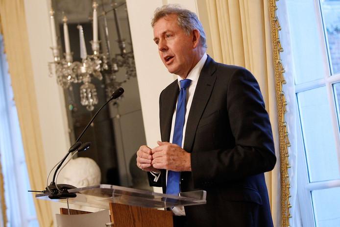 De Britse ambassadeur Kim Darroch,