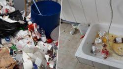 """Zo vuil laten Roma gekraakte pand in Gent achter: """"Wie gaat dit betalen?"""""""