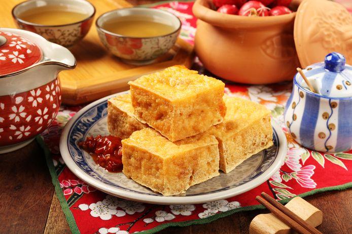 Sticky tofu.