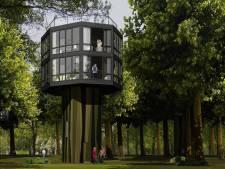 Voor 500 euro per nacht slaap je straks in een vakantiehuis tussen de boomtoppen