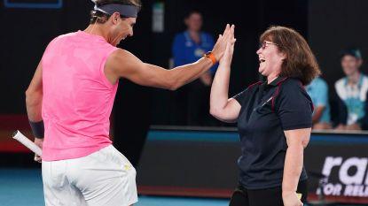 Australian Open: na de rook, de regen