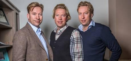 Erik, Viktor en Stephen Steijer vormen al 45 jaar lang een drie-eenheid