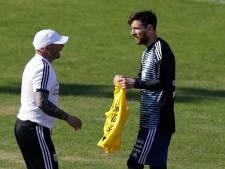 Sampaoli beschermt Messi: 'Hij draagt niet alle verantwoordelijkheid'