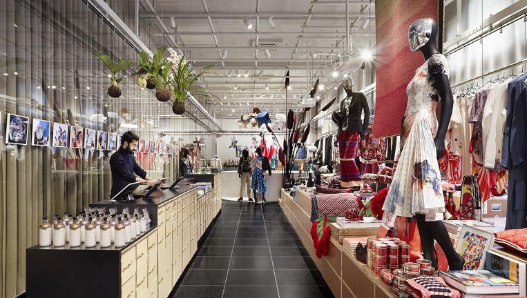X BANK, de nieuwe ruimte in Amsterdam voor mode, kunst en design. Beeld null