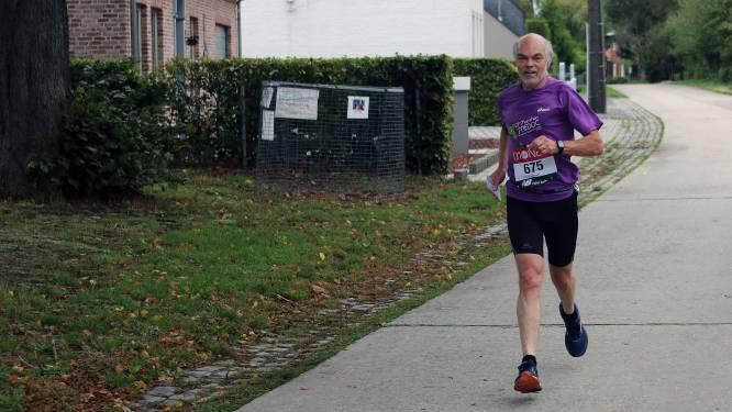 Oud-burgemeester loopt marathon van Londen virtueel op zelf uitgestippeld parcours in Laakdal