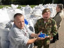 Twintig ton flessendoppen voor het goede doel