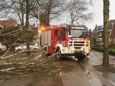 Aanzienlijke stormschade in gemeenten Hellendoorn en Rijssen-Holten, geen gewonden