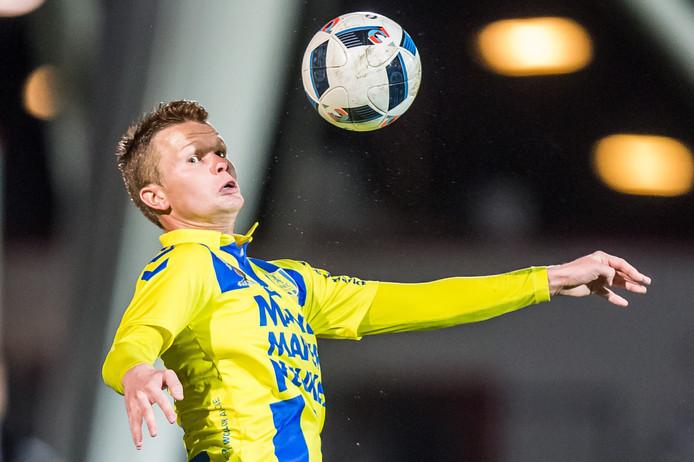Pieter Langedijk besliste de wedstrijd tegen FC Den Bosch. Het was zijn eerste goal in de voorbereiding.