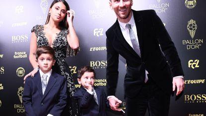 Niet Leo, maar 'Real Madrid-fan' Mateo Messi stal de show op Ballon d'Or