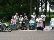 Bossche gehandicapten  protesteren tegen grindpad: Bezint eer ge begrint!
