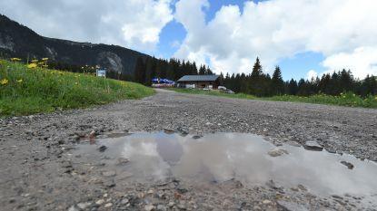 De Montée du plateau des Glières, vandaag een nieuwe klim in de Tour mét een strook onverharde weg
