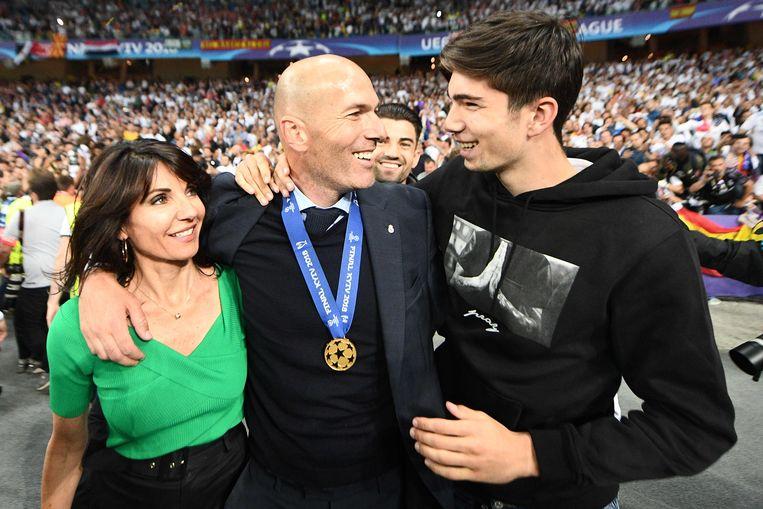'ZZ' vierde zaterdag in Kiev met zijn vrouw Veronique en zoon Theo.