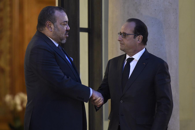 François Hollande a remercié le Roi du Maroc Mohammed VI pour l'aide apportée par son pays après les attentats de Paris.