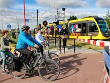 Nog zonder passagiers, maar Uithoflijn-tram 22 rijdt!