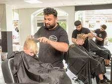 'Drie musketiers uit Irak' zijn nu barbiers in Putten