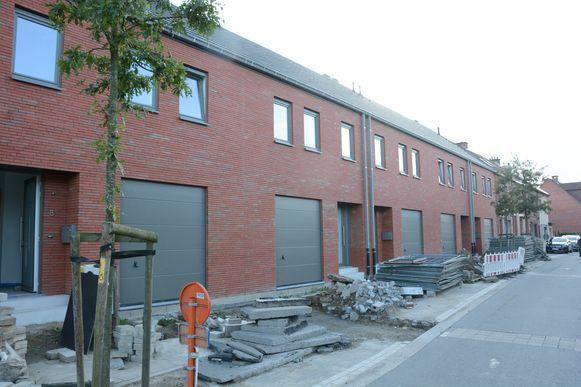 Nog in de Daalstraat werden vijf koopwoningen opgetrokken.