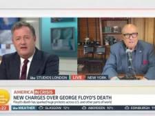 L'avocat personnel de Trump perd son sang froid à la télévision britannique en le défendant