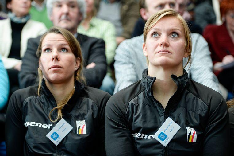 Hanna Mariën (l) en Elfje Willemsen (r)