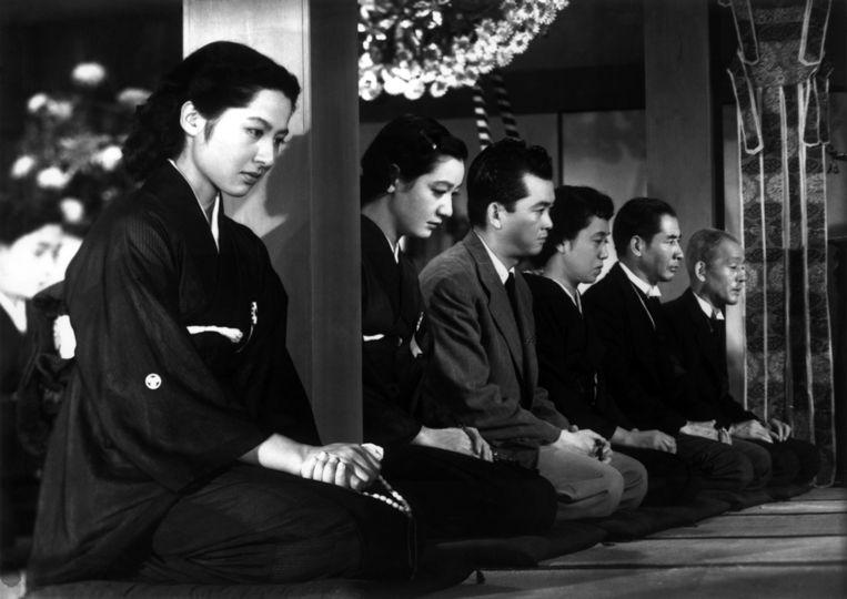 Actrice Setsuko Hara in Tokyo Story. Beeld null