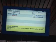 Geen treinverkeer tussen Almelo en Mariënberg door wisselstoring
