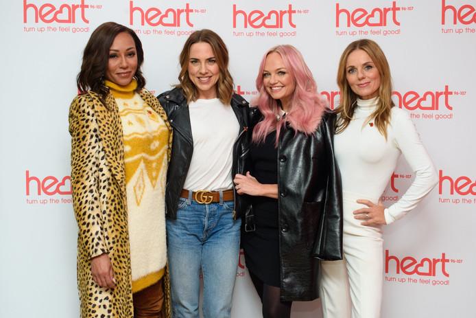 Les Spice Girls, le 7 novembre 2018: Melanie Brown, Melanie Chisholm, Geri Horner et Emma Bunton.