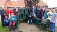 Leerlingen D'Hek maken vogelkasten voor bosuil