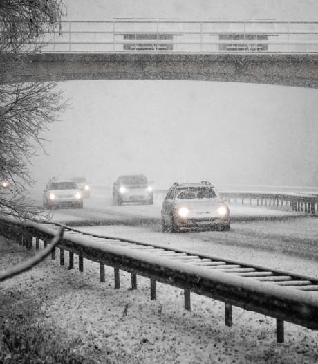 Rijkswaterstaat: dinsdagavond gaat het sneeuwen