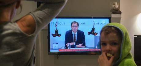 België gaat in 'verstrengde lockdown'