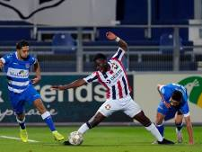 Willem II alleen in slotfase vurig in Zwolle en komt niet verder dan 0-0