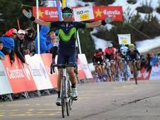Valverde wint titanenstrijd op de Lo Port en slaat dubbelslag
