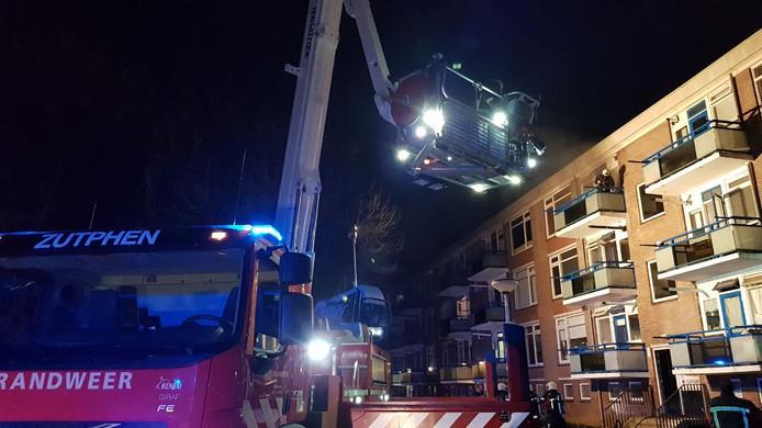 De brand in het appartementengebouw in Zutphen