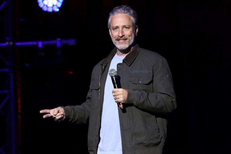 Jon Stewart. Beeld ap