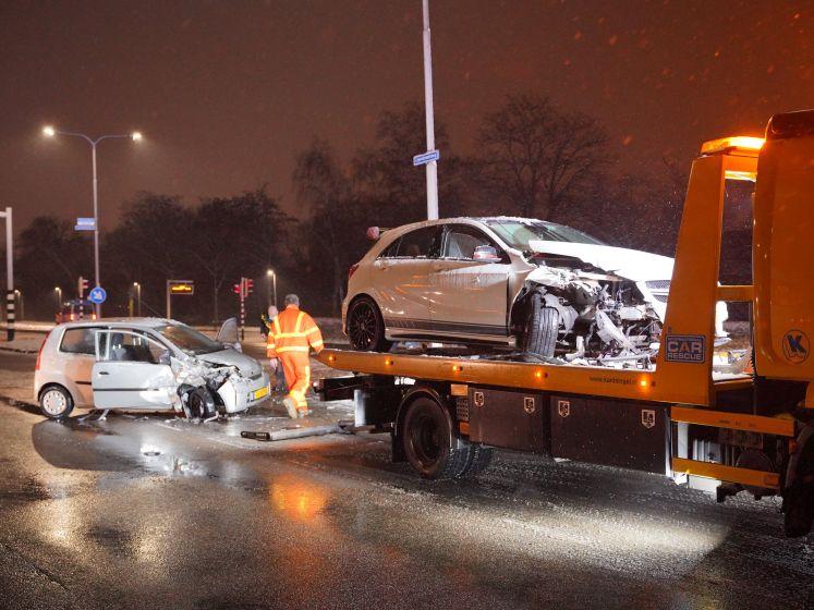 Eén gewonde en een aanhouding bij botsing in Nijmegen